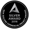 New Zealand Commercial Project Awards - silver award 2016